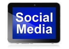 Social Media auf Vorsprung vektor abbildung