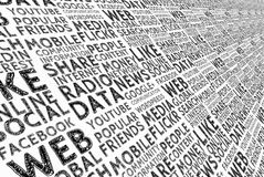 Social, Media, Board, Structure Stock Images