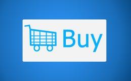 Social media Buy Icon Royalty Free Stock Photo