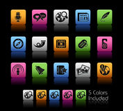 Social Media // Colorbox Series Stock Image