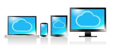 Social Media communication electronics vector illustration