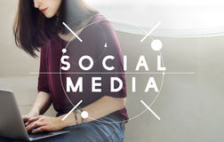 Social Media Communication Networking Online Concept Stock Photo
