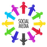 Social Media Concept Royalty Free Stock Photo