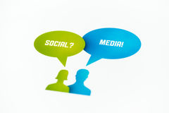 Social Media Concept Stock Photos
