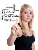 Social Media concept Royalty Free Stock Image