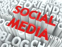 Social Media Concept. Stock Photography