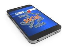 Social media concept Stock Photography