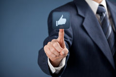 Like - social media Stock Images