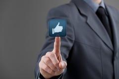 Like - social media Stock Images