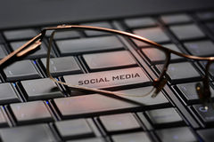 Social Media concept Royalty Free Stock Images