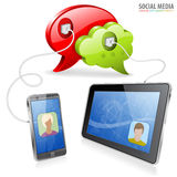 Social Media Concept Royalty Free Stock Photos