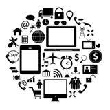 Social media concept vector illustration Royalty Free Stock Image
