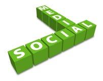 Social Media connection Stock Photos