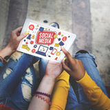 Social Media Connection Global Communication Concept Royalty Free Stock Image