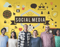 Social Media Connection Global Communication Concept Stock Photo