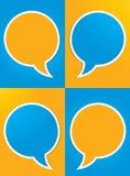 Social media conversation design Stock Photo