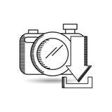 Social media design. Illustration eps10 graphic Stock Photos