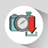 Social media design. Illustration eps10 graphic Stock Photography
