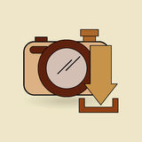 Social media design. Illustration eps10 graphic Royalty Free Stock Photos