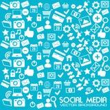 Social media design Royalty Free Stock Photos