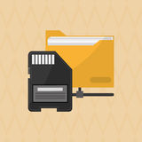 Social media design, vector illustration. Social media  concept with icon design, vector illustration 10 eps graphic Stock Photography