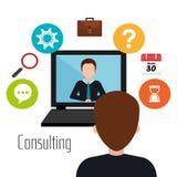 Social media and digital marketing Stock Photography