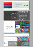 Social media and email headers set, modern banners. Abstract design business templates, vector layouts. Bright color. Social media and email headers set, modern Stock Photography
