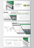 Social media and email headers set, modern banners. Business templates. Cover design template, easy editable, flat Stock Image