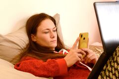 Social media generation during Corona times