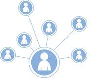 Social media graphic illustration - Stock Photos
