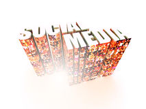 Social Media Graphics Stock Photo
