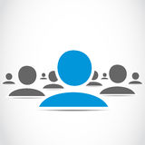 Social Media-Gruppe Lizenzfreies Stockfoto
