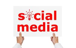 Social media Royalty Free Stock Photo