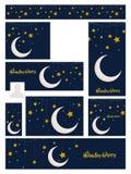Social media header or banner for Ramadan. Royalty Free Stock Images