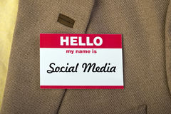 Social Media. Royalty Free Stock Images