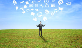 Social media icon Stock Image