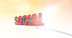 Social Media Icon Stock Images