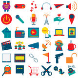 Social Media Icon 1 Stock Image