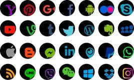 Social media icon Royalty Free Stock Photo
