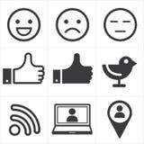 Social media icon vector illustration