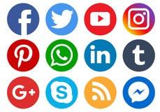Free Social Media Icons Stock Photos - 132052833