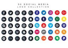 Social Media Icons Bundle -Vector vector illustration
