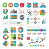 Social media icons. Chat speech bubble and Globe. Stock Photo