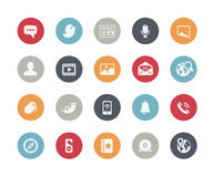 Social Media Icons // Classics Series. Vector icons for your web, mobile or printing projects Royalty Free Stock Image
