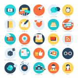 Social media icons. Stock Image