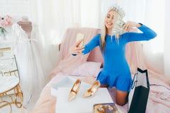 Social media influencer posh lady lifestyle