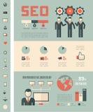 Social Media Infographic Template. Stock Photos