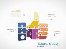 Social Media vector illustration