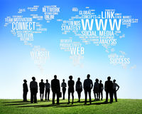 Social Media Internet Connection Global Communications Concept Stock Photo