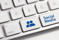 Social Media Key Stock Photos